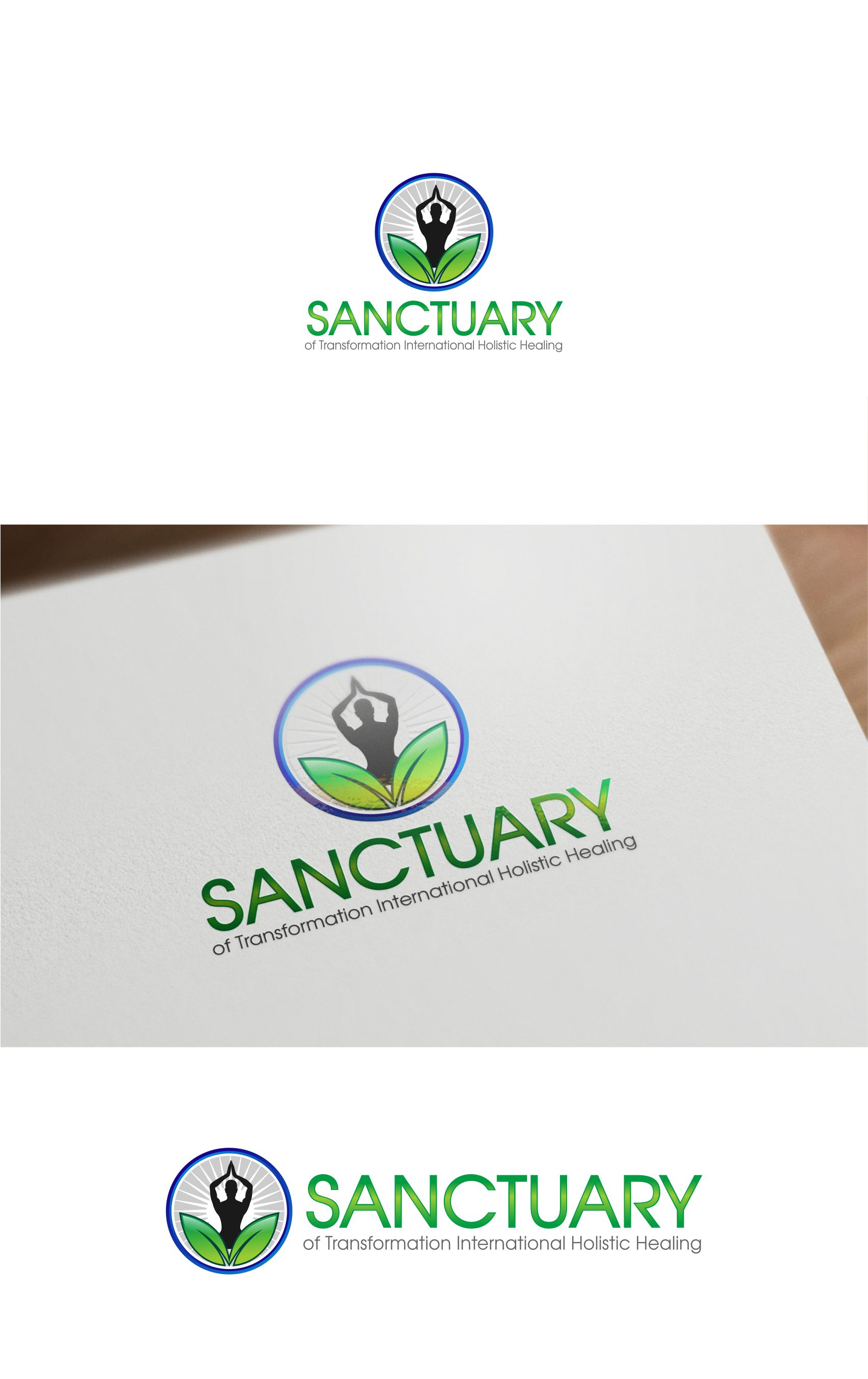 Logo Design by Raymond Garcia - Entry No. 3 in the Logo Design Contest Fun Logo Design for Sanctuary of Transformation.