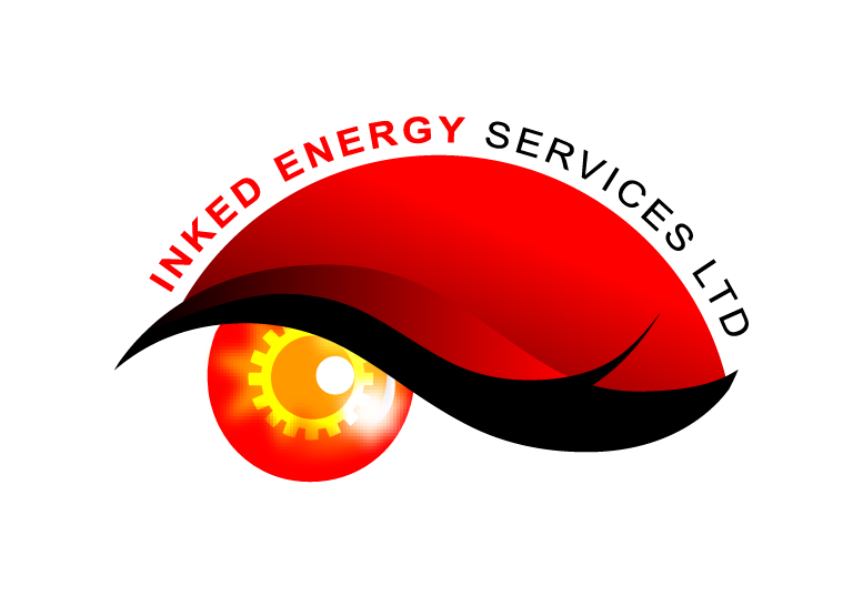 Logo Design by Raj Kumar - Entry No. 101 in the Logo Design Contest Creative Logo Design for INKED ENERGY SERVICES LTD.