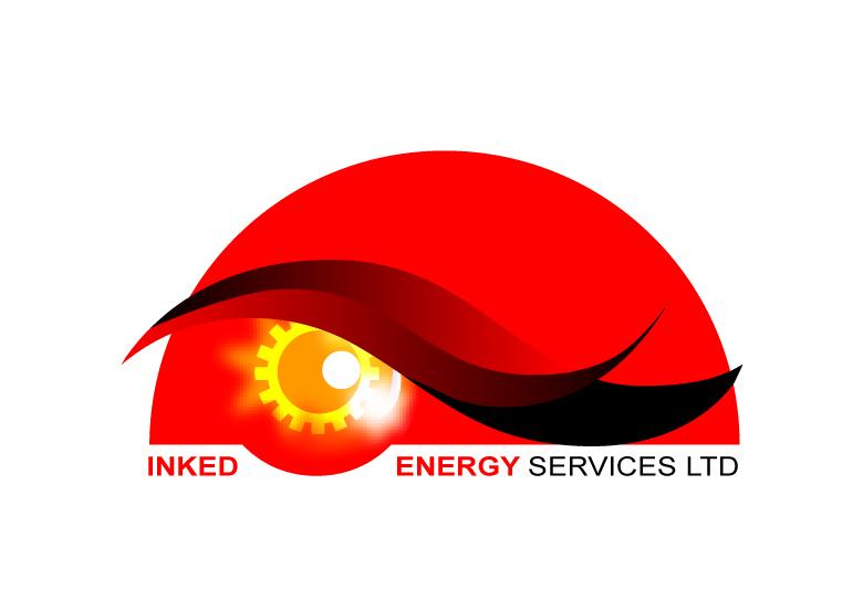 Logo Design by Raj Kumar - Entry No. 103 in the Logo Design Contest Creative Logo Design for INKED ENERGY SERVICES LTD.