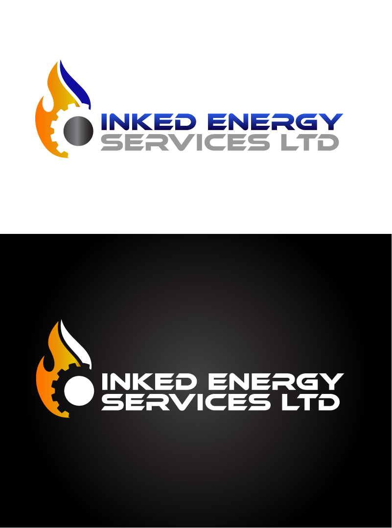 Logo Design by Private User - Entry No. 105 in the Logo Design Contest Creative Logo Design for INKED ENERGY SERVICES LTD.