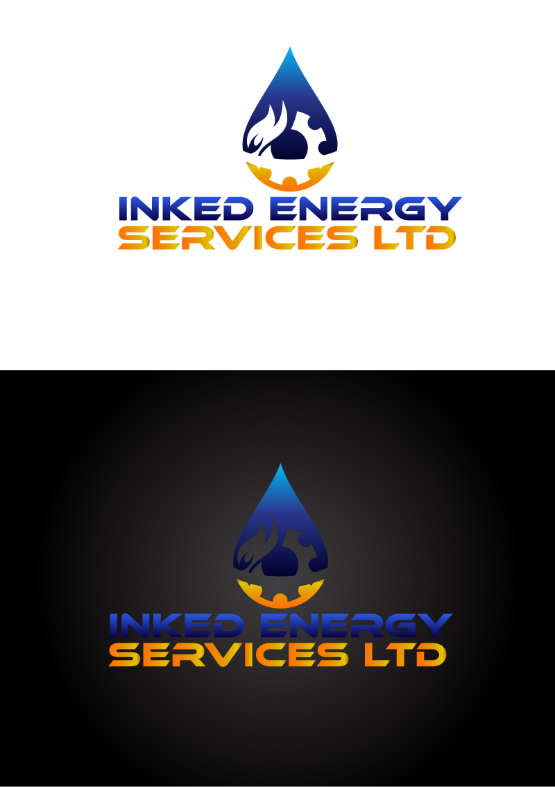 Logo Design by Private User - Entry No. 106 in the Logo Design Contest Creative Logo Design for INKED ENERGY SERVICES LTD.