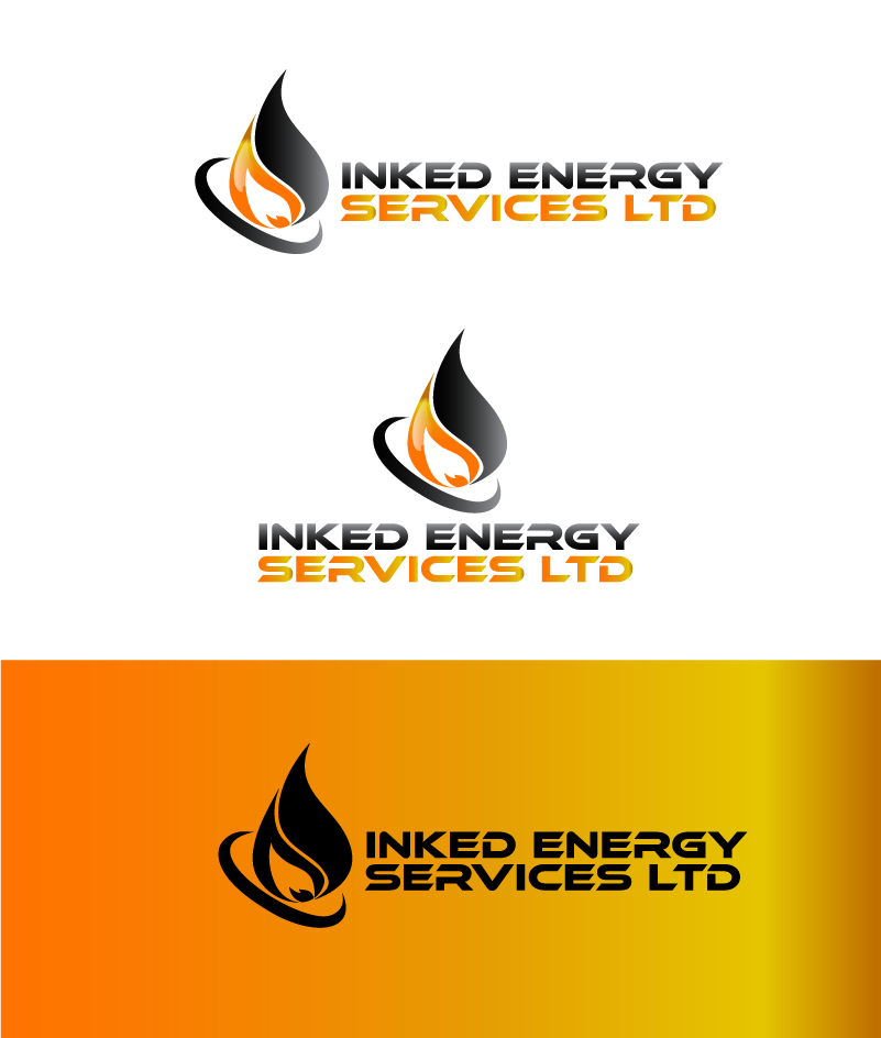 Logo Design by Private User - Entry No. 107 in the Logo Design Contest Creative Logo Design for INKED ENERGY SERVICES LTD.