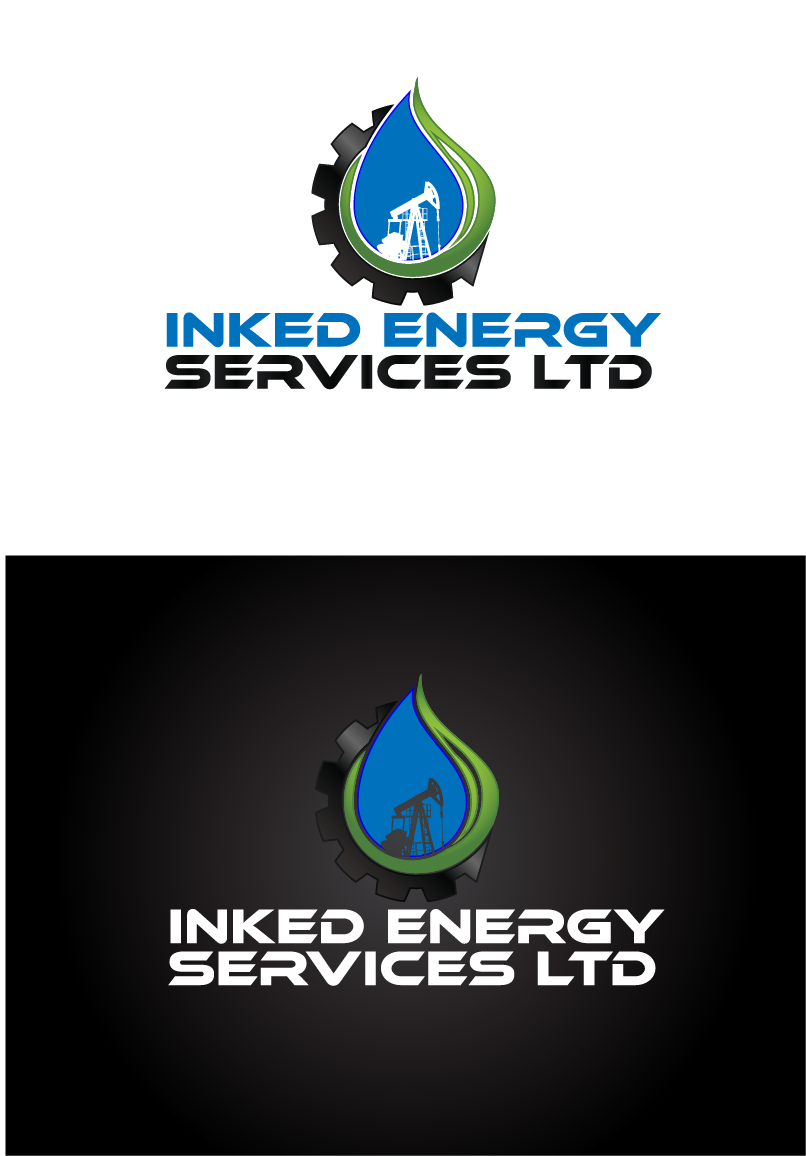 Logo Design by Private User - Entry No. 108 in the Logo Design Contest Creative Logo Design for INKED ENERGY SERVICES LTD.