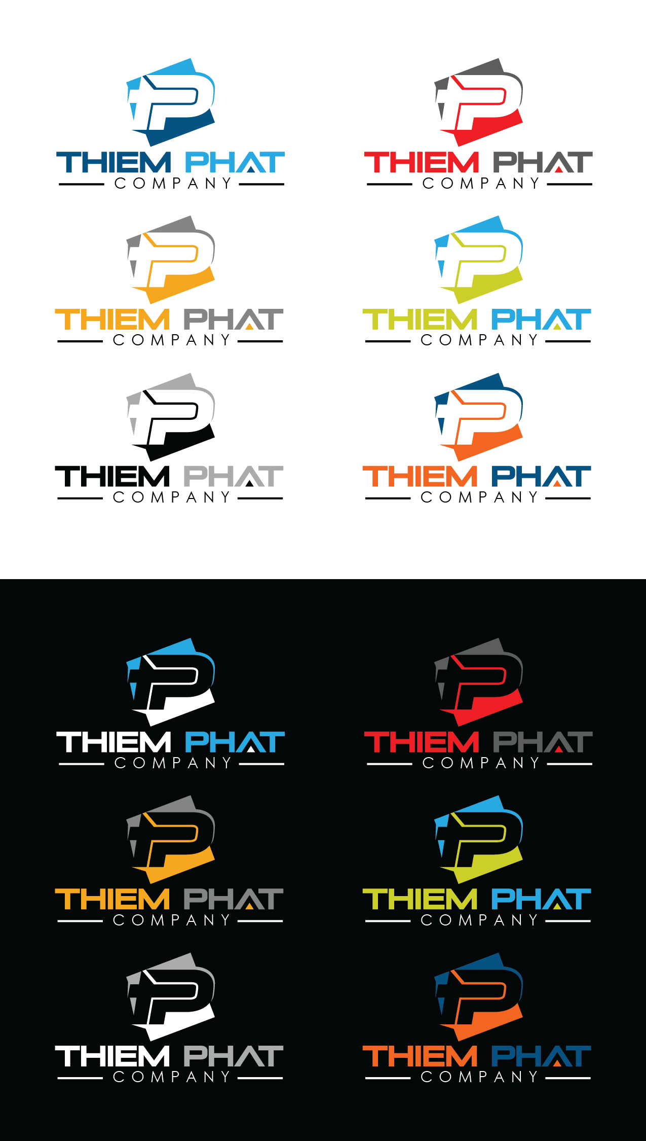 Logo Design by Private User - Entry No. 72 in the Logo Design Contest New Logo Design for Thiem Phat company.