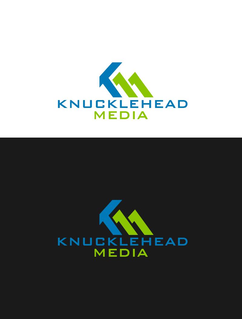 Logo Design by Private User - Entry No. 70 in the Logo Design Contest Imaginative Logo Design for knucklehead media.