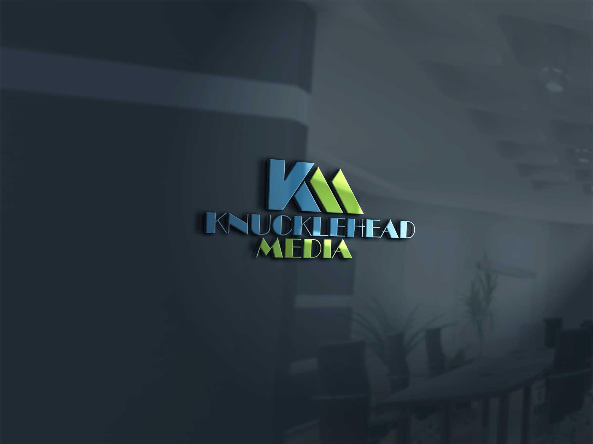 Logo Design by brands_in - Entry No. 71 in the Logo Design Contest Imaginative Logo Design for knucklehead media.