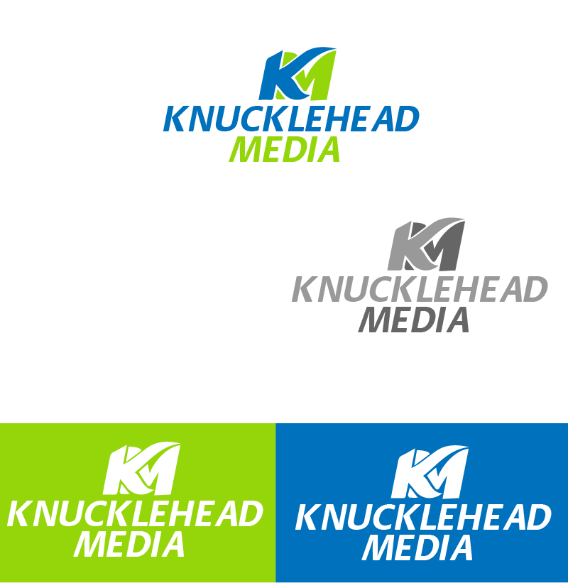 Logo Design by brands_in - Entry No. 74 in the Logo Design Contest Imaginative Logo Design for knucklehead media.