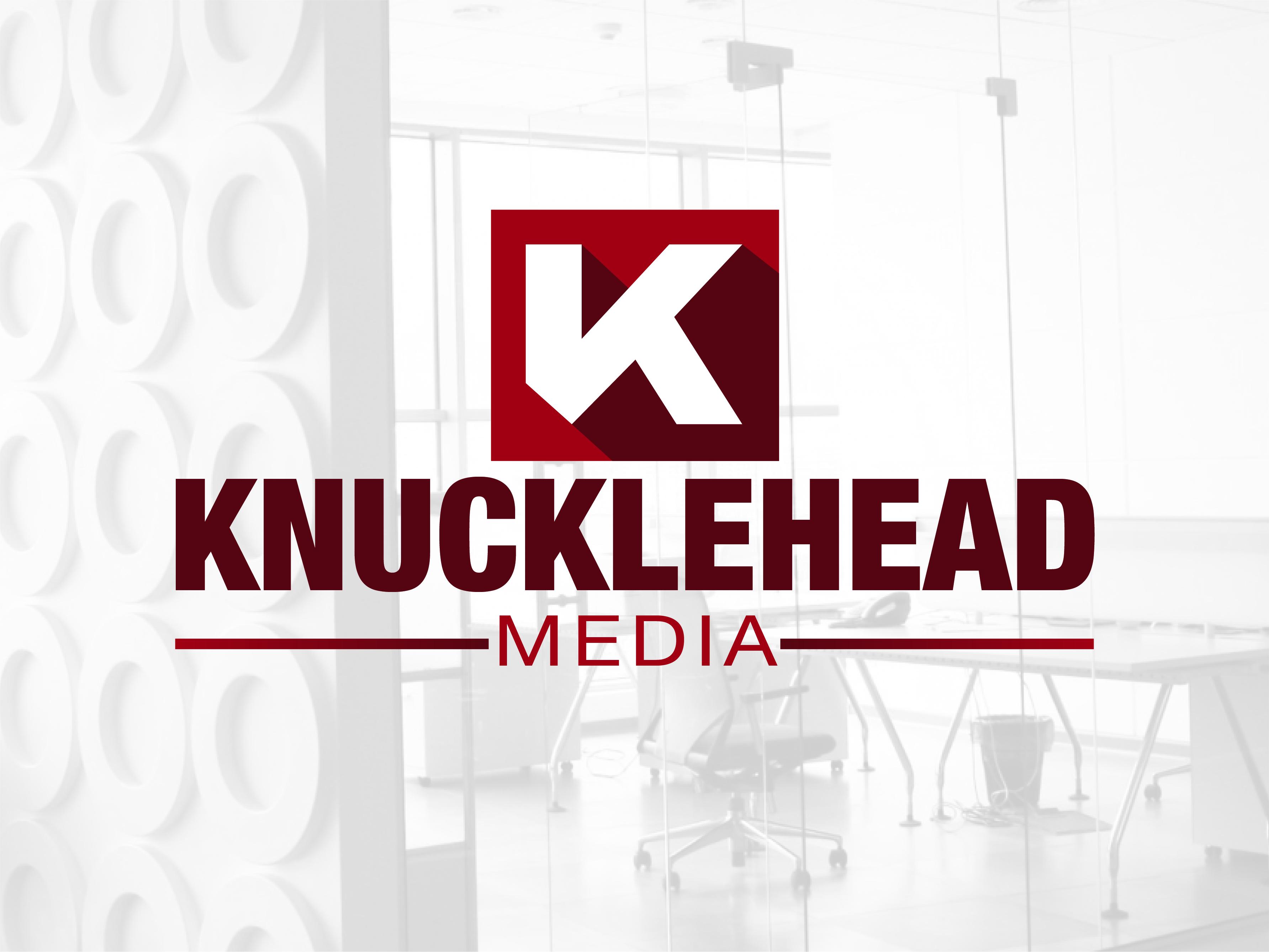 Logo Design by Rob King - Entry No. 75 in the Logo Design Contest Imaginative Logo Design for knucklehead media.