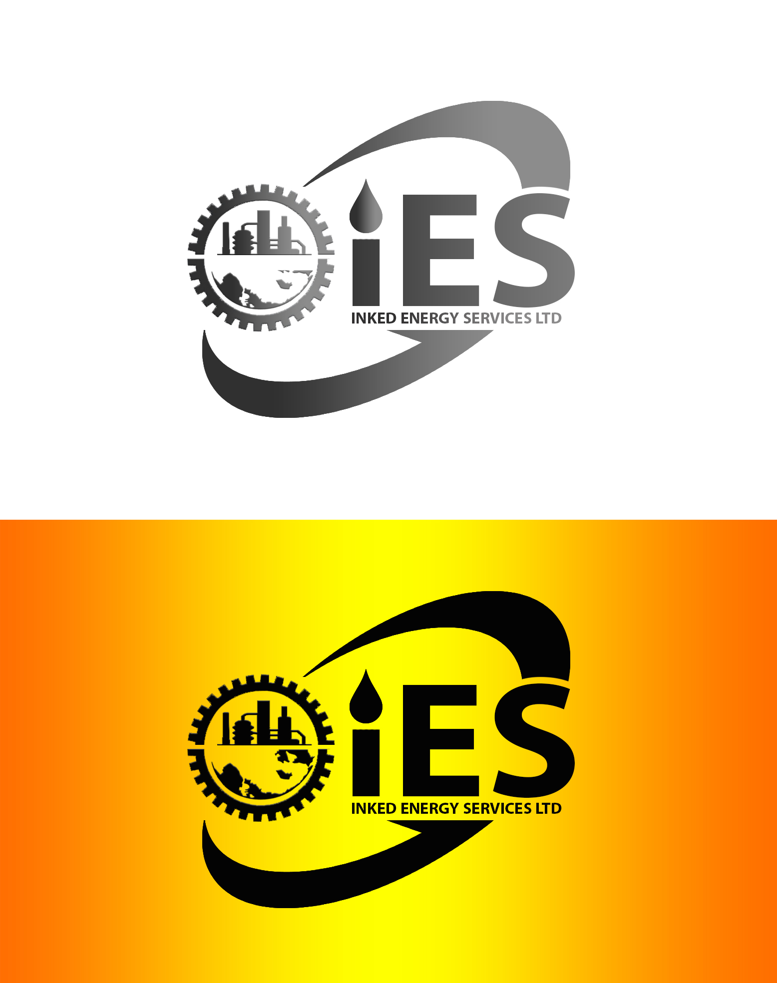 Logo Design by JSDESIGNGROUP - Entry No. 111 in the Logo Design Contest Creative Logo Design for INKED ENERGY SERVICES LTD.