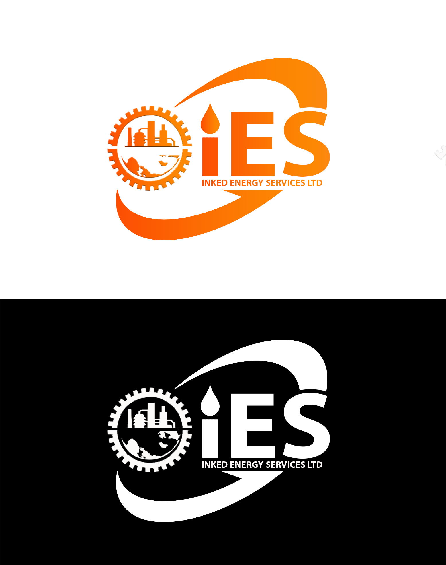 Logo Design by JSDESIGNGROUP - Entry No. 114 in the Logo Design Contest Creative Logo Design for INKED ENERGY SERVICES LTD.