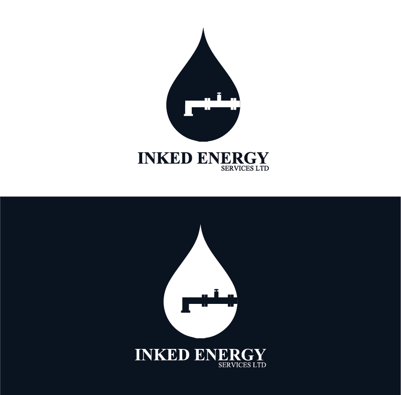 Logo Design by pojas12 - Entry No. 115 in the Logo Design Contest Creative Logo Design for INKED ENERGY SERVICES LTD.