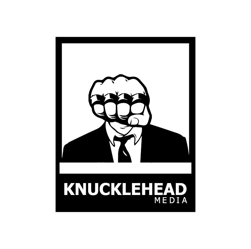 Logo Design by pojas12 - Entry No. 76 in the Logo Design Contest Imaginative Logo Design for knucklehead media.