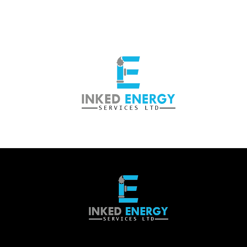 Logo Design by Private User - Entry No. 117 in the Logo Design Contest Creative Logo Design for INKED ENERGY SERVICES LTD.