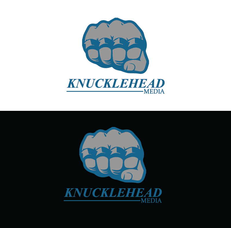 Logo Design by pojas12 - Entry No. 77 in the Logo Design Contest Imaginative Logo Design for knucklehead media.