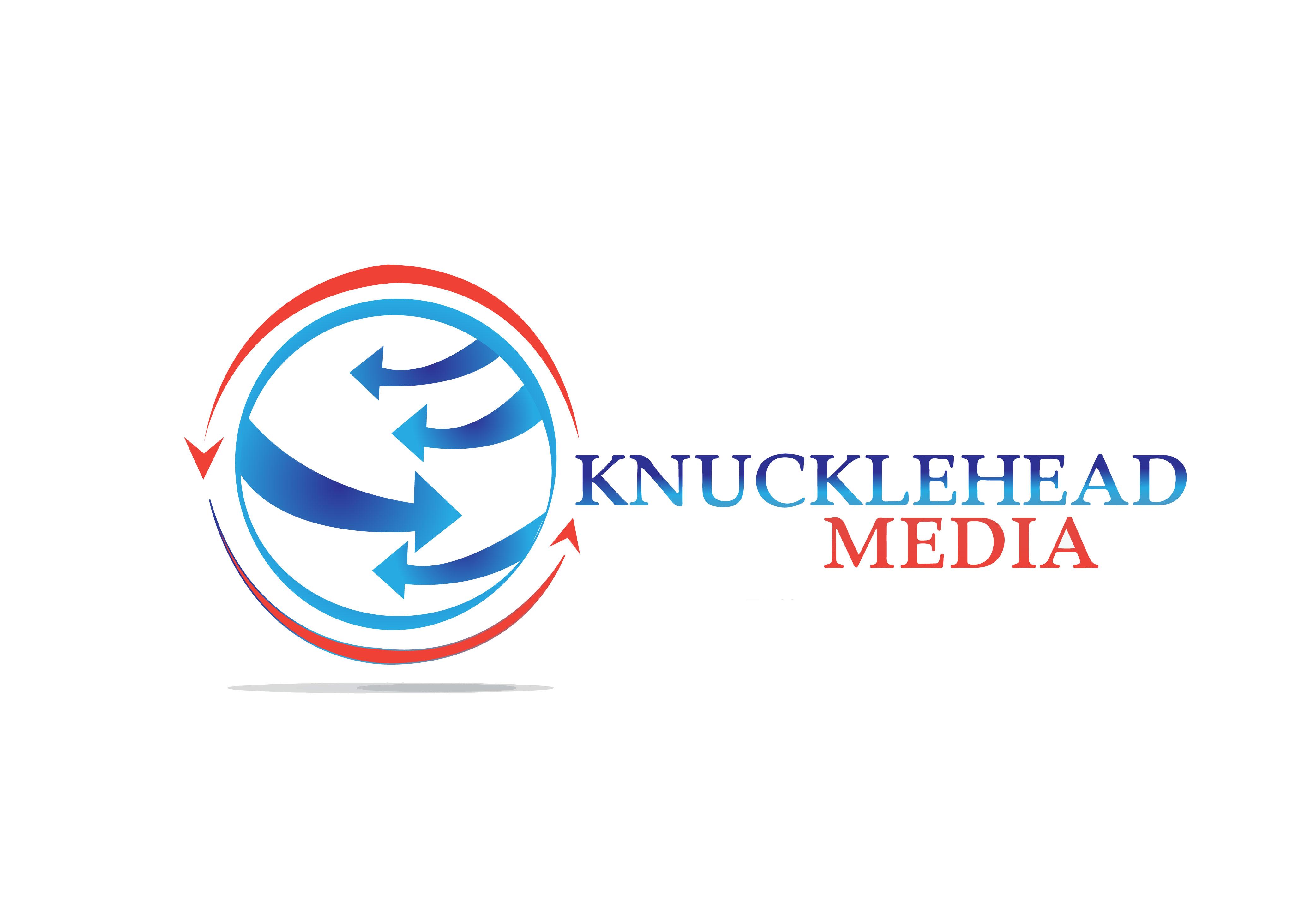 Logo Design by Bilal Baloch - Entry No. 78 in the Logo Design Contest Imaginative Logo Design for knucklehead media.