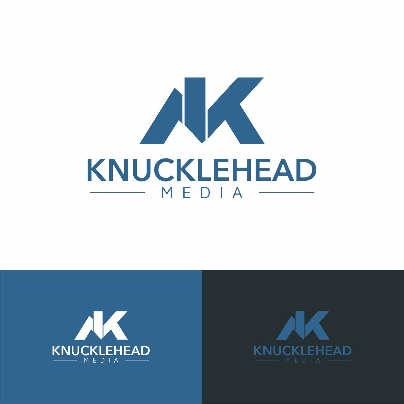 Logo Design by RasYa Muhammad Athaya - Entry No. 81 in the Logo Design Contest Imaginative Logo Design for knucklehead media.