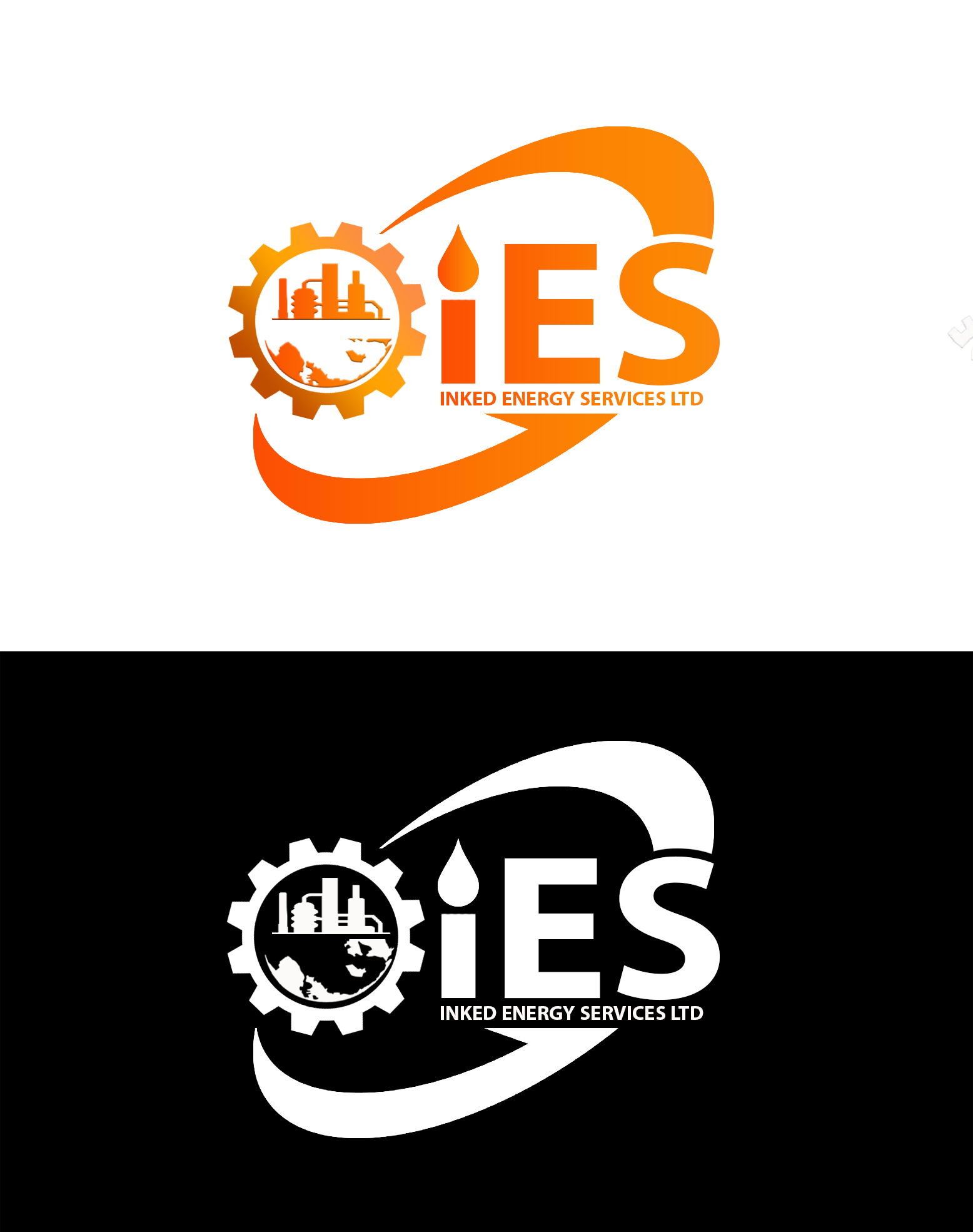 Logo Design by JSDESIGNGROUP - Entry No. 125 in the Logo Design Contest Creative Logo Design for INKED ENERGY SERVICES LTD.