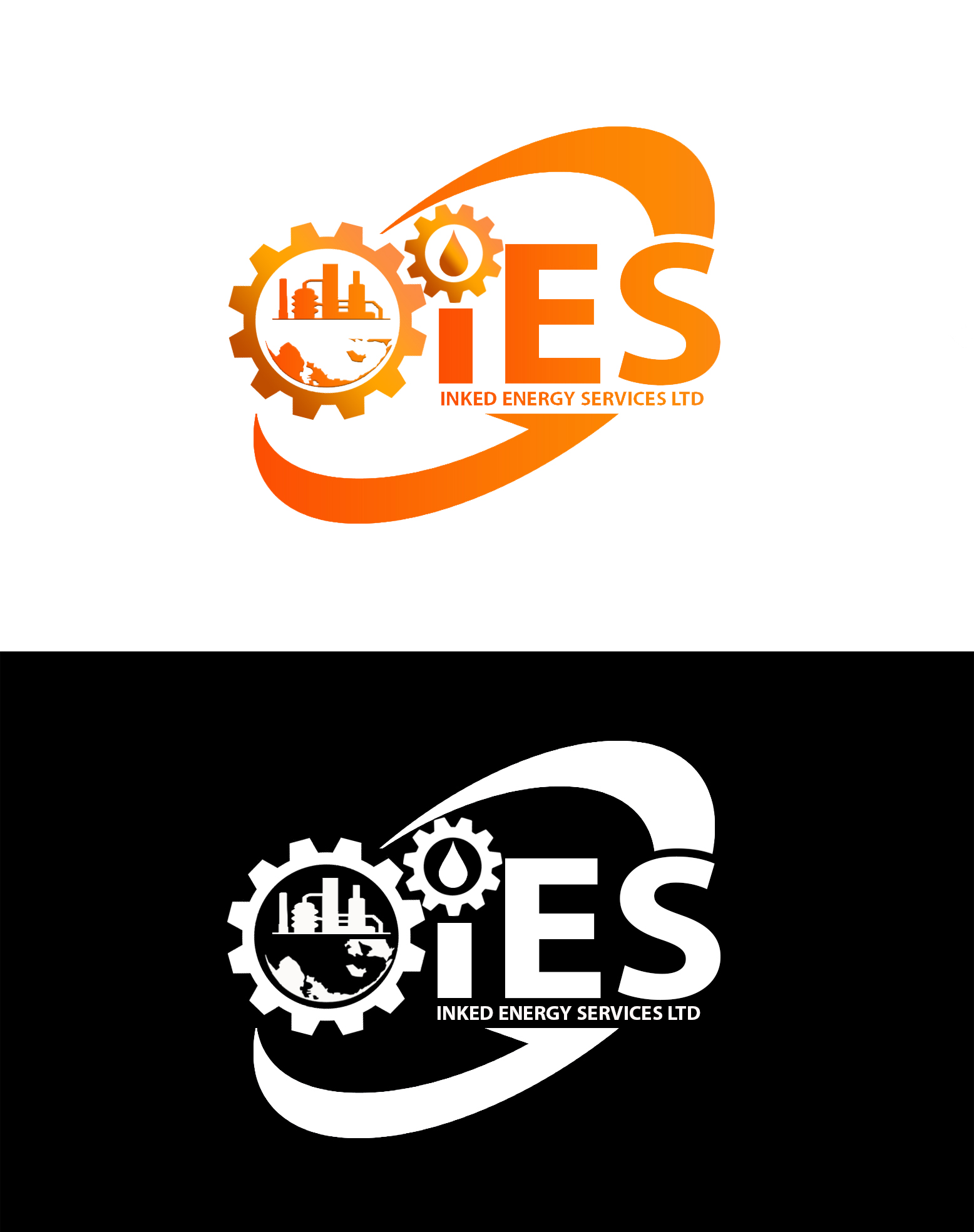 Logo Design by JSDESIGNGROUP - Entry No. 126 in the Logo Design Contest Creative Logo Design for INKED ENERGY SERVICES LTD.
