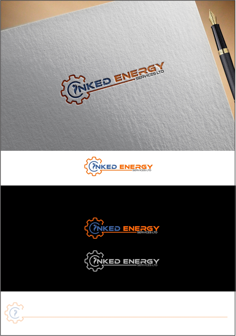 Logo Design by ian69 - Entry No. 127 in the Logo Design Contest Creative Logo Design for INKED ENERGY SERVICES LTD.