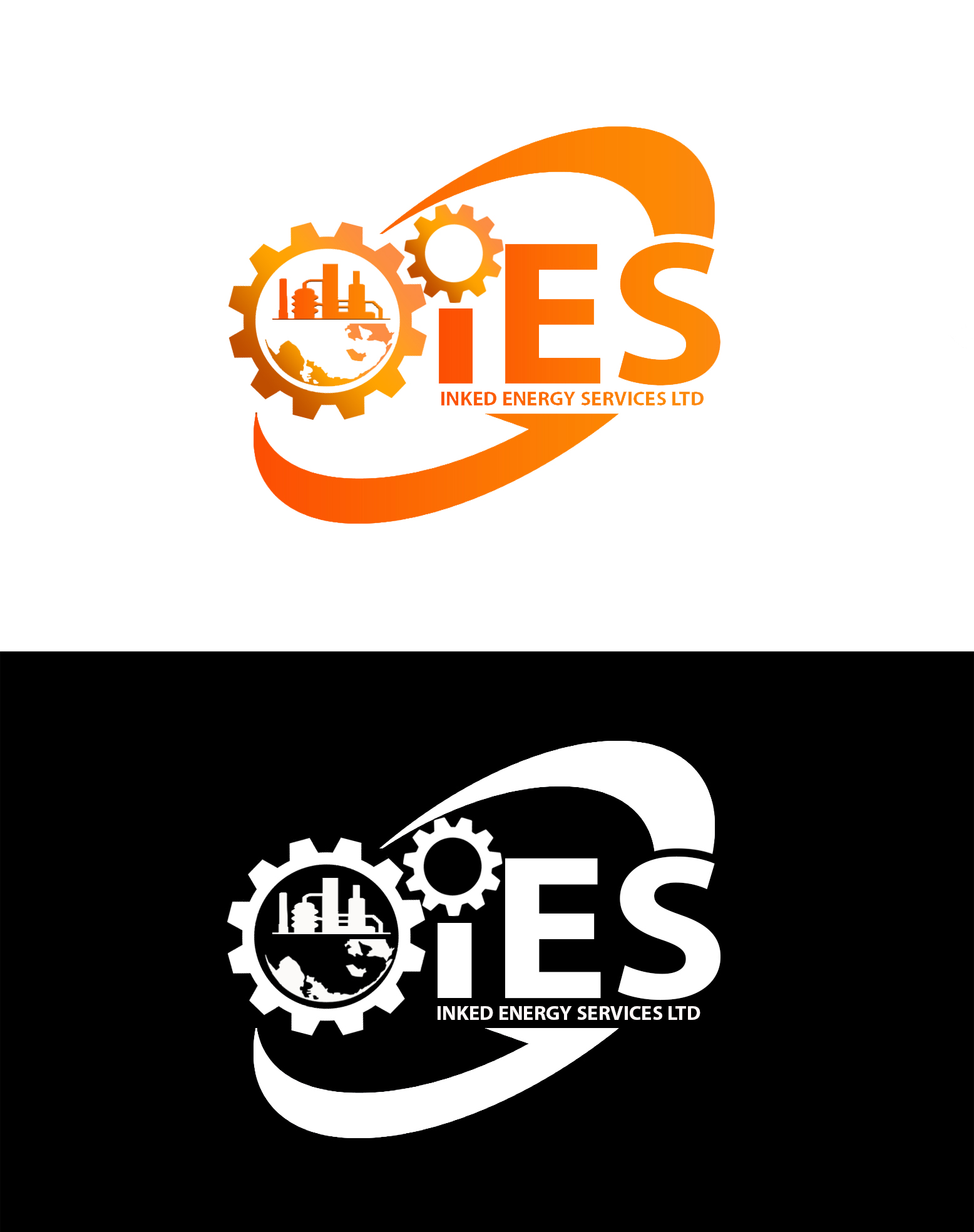 Logo Design by JSDESIGNGROUP - Entry No. 128 in the Logo Design Contest Creative Logo Design for INKED ENERGY SERVICES LTD.