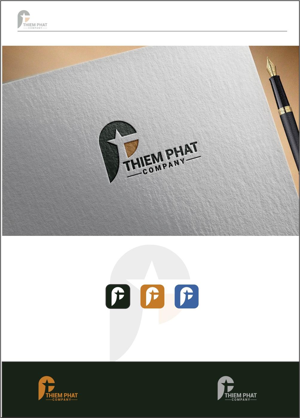Logo Design by ian69 - Entry No. 91 in the Logo Design Contest New Logo Design for Thiem Phat company.
