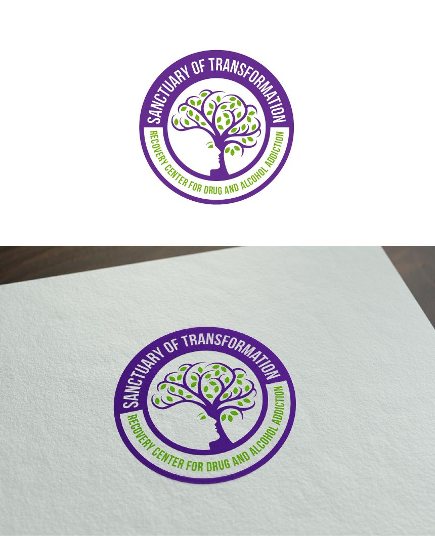 Logo Design by Juan Luna - Entry No. 15 in the Logo Design Contest Fun Logo Design for Sanctuary of Transformation.