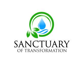Logo Design by Private User - Entry No. 16 in the Logo Design Contest Fun Logo Design for Sanctuary of Transformation.