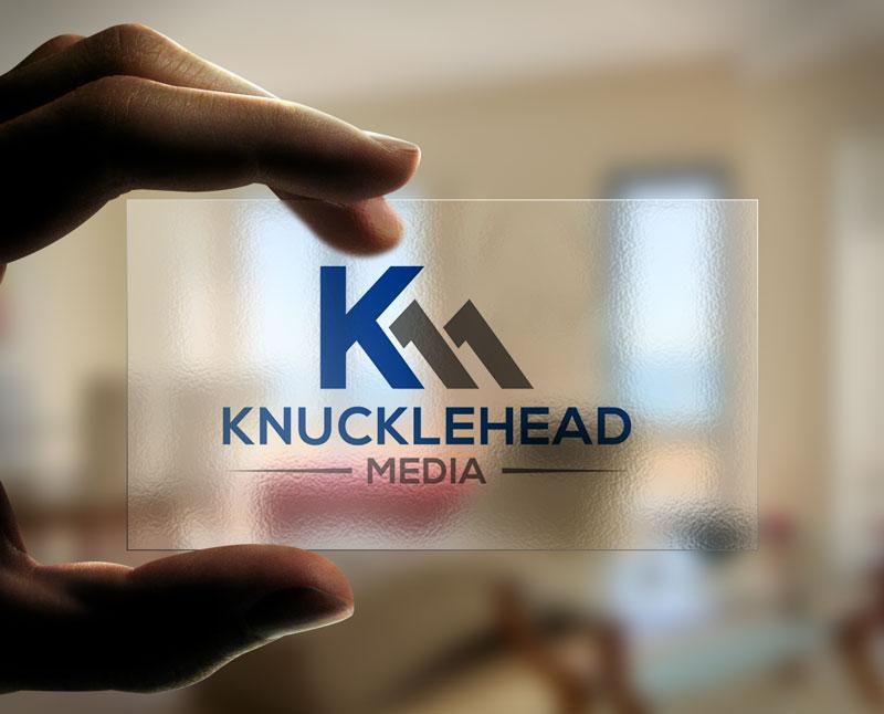 Logo Design by Private User - Entry No. 87 in the Logo Design Contest Imaginative Logo Design for knucklehead media.