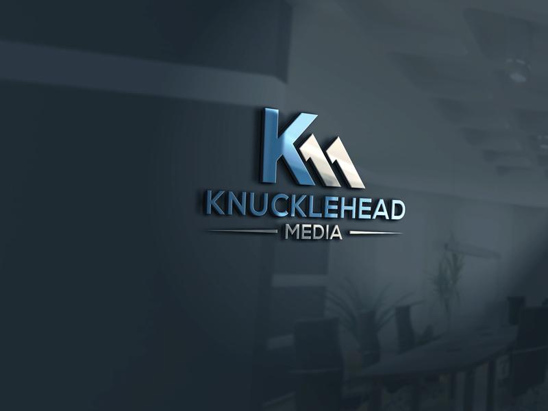 Logo Design by Private User - Entry No. 90 in the Logo Design Contest Imaginative Logo Design for knucklehead media.
