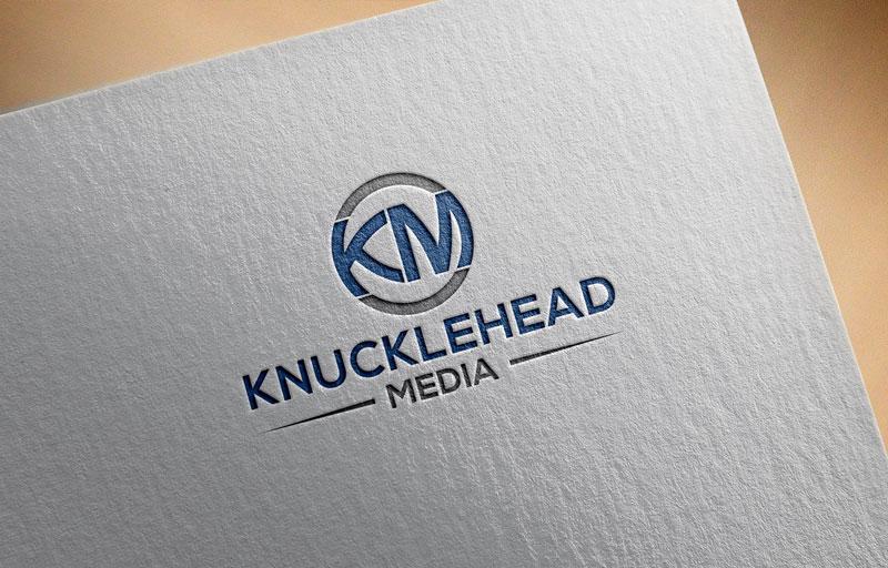 Logo Design by Private User - Entry No. 92 in the Logo Design Contest Imaginative Logo Design for knucklehead media.