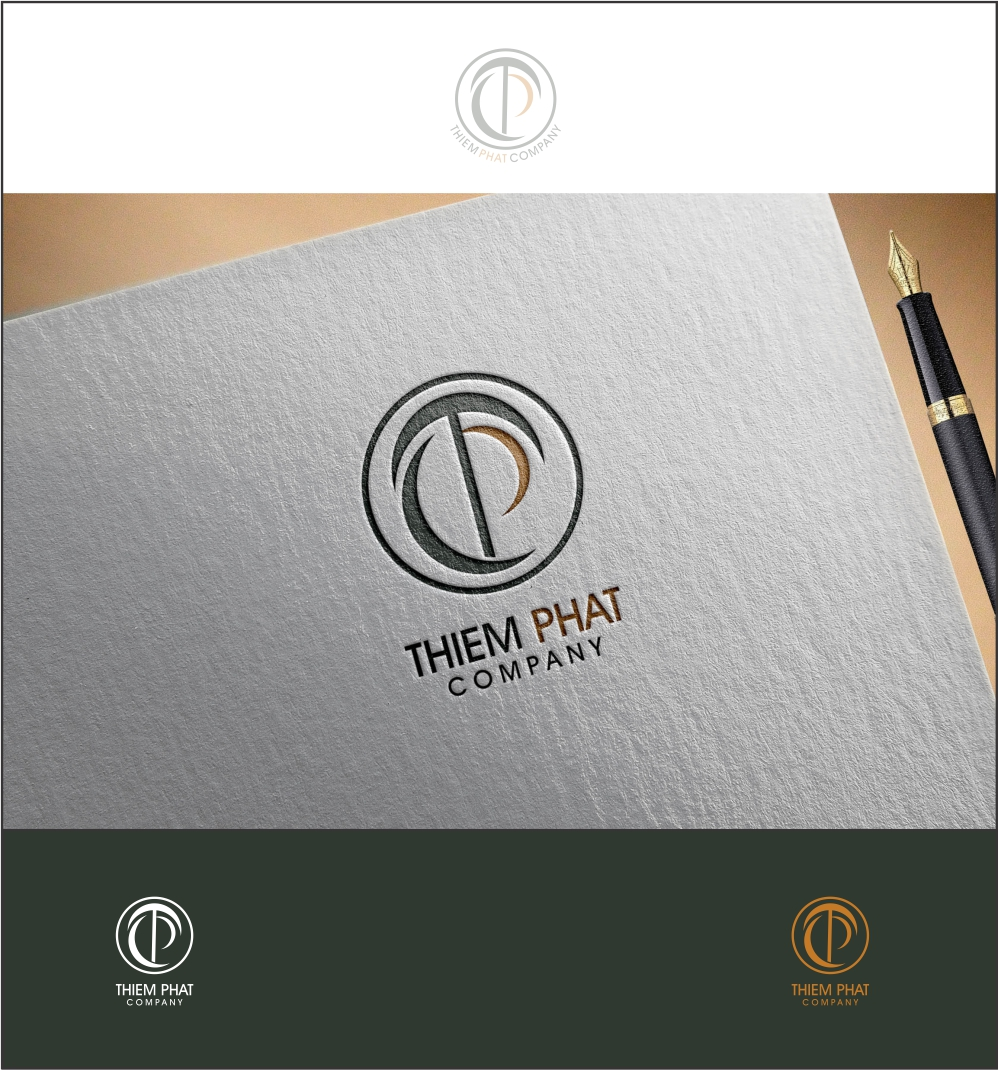 Logo Design by ian69 - Entry No. 103 in the Logo Design Contest New Logo Design for Thiem Phat company.