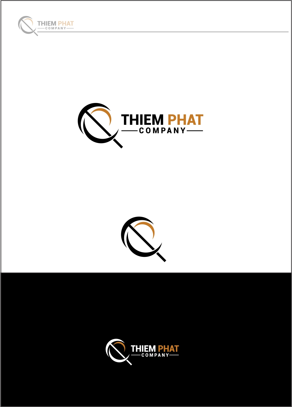 Logo Design by ian69 - Entry No. 104 in the Logo Design Contest New Logo Design for Thiem Phat company.