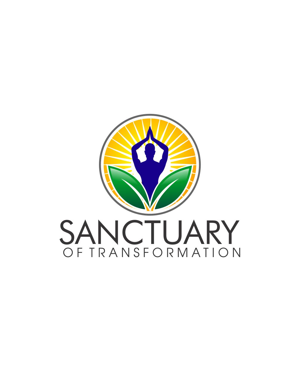 Logo Design by Raymond Garcia - Entry No. 27 in the Logo Design Contest Fun Logo Design for Sanctuary of Transformation.