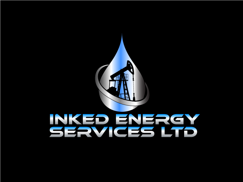 Logo Design by Private User - Entry No. 145 in the Logo Design Contest Creative Logo Design for INKED ENERGY SERVICES LTD.