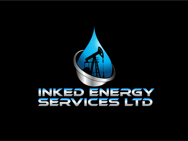 Logo Design by Private User - Entry No. 146 in the Logo Design Contest Creative Logo Design for INKED ENERGY SERVICES LTD.