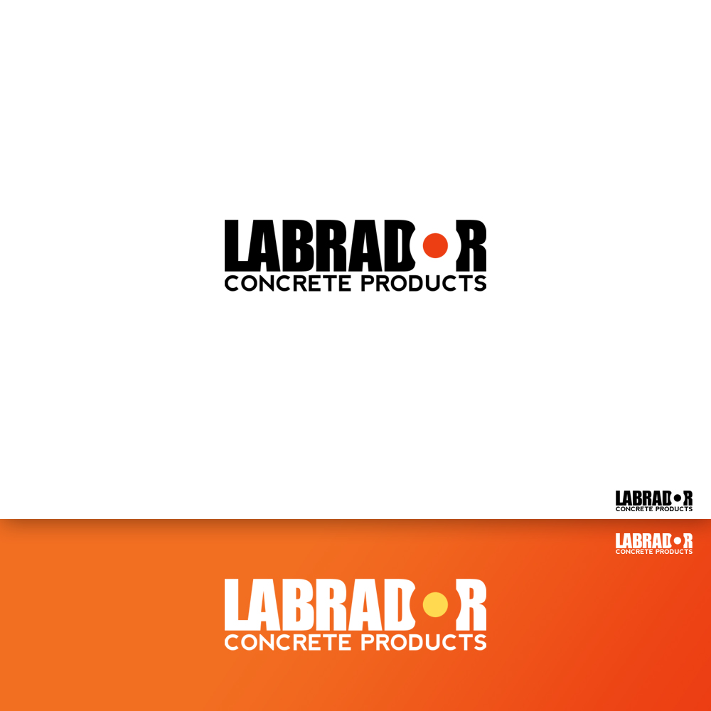Logo Design by Cinr - Entry No. 116 in the Logo Design Contest Logo for Labrador Concrete Products.