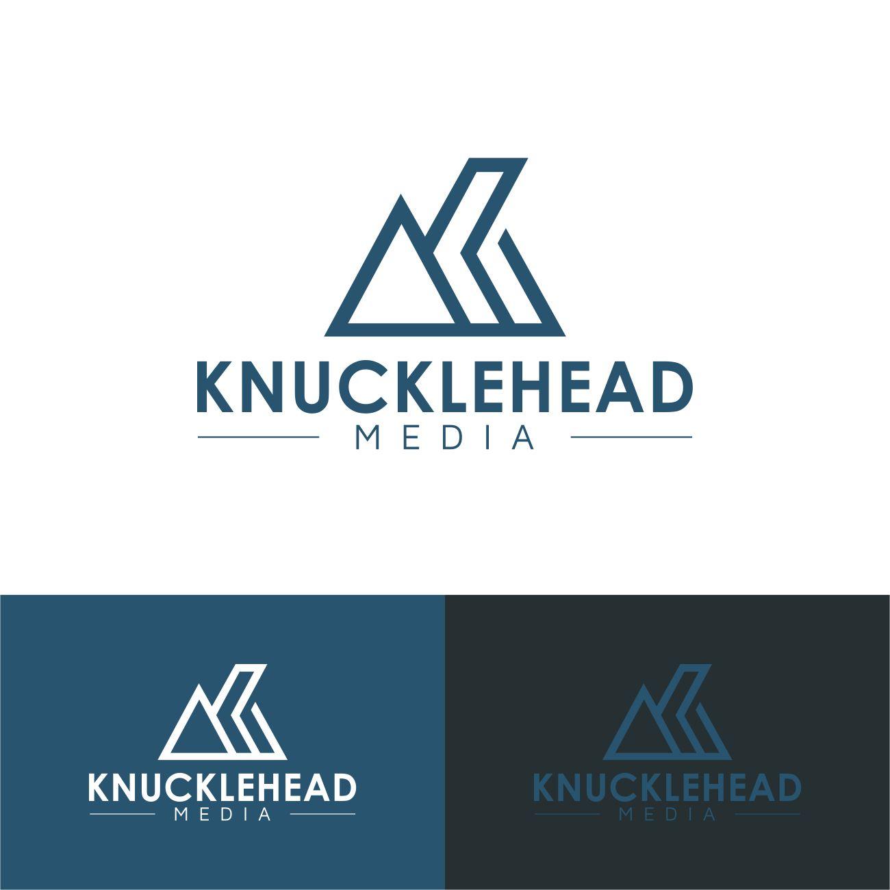Logo Design by RasYa Muhammad Athaya - Entry No. 96 in the Logo Design Contest Imaginative Logo Design for knucklehead media.