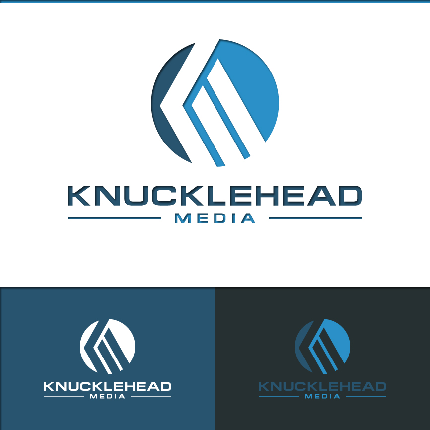 Logo Design by RasYa Muhammad Athaya - Entry No. 100 in the Logo Design Contest Imaginative Logo Design for knucklehead media.