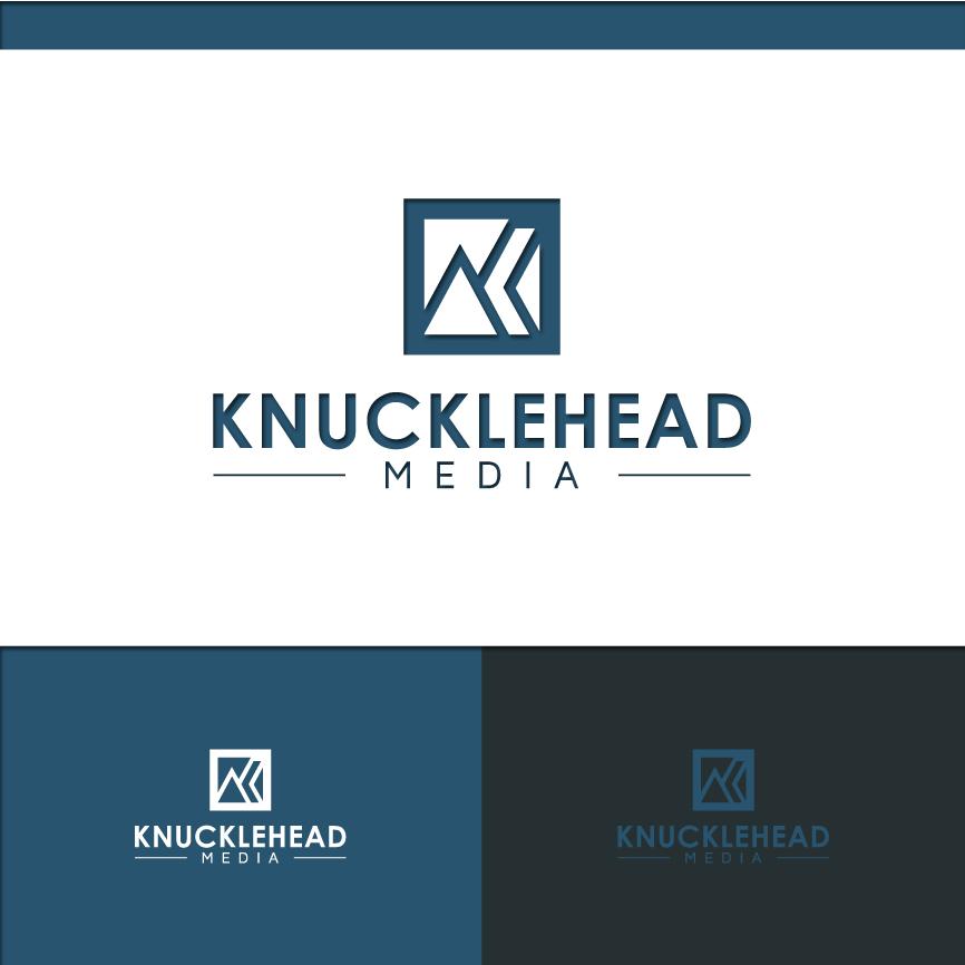 Logo Design by RasYa Muhammad Athaya - Entry No. 101 in the Logo Design Contest Imaginative Logo Design for knucklehead media.