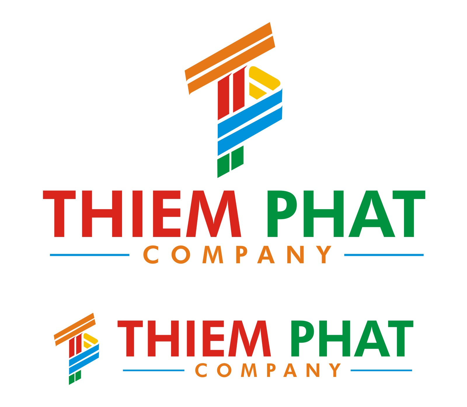 Logo Design by Spider Graphics - Entry No. 119 in the Logo Design Contest New Logo Design for Thiem Phat company.