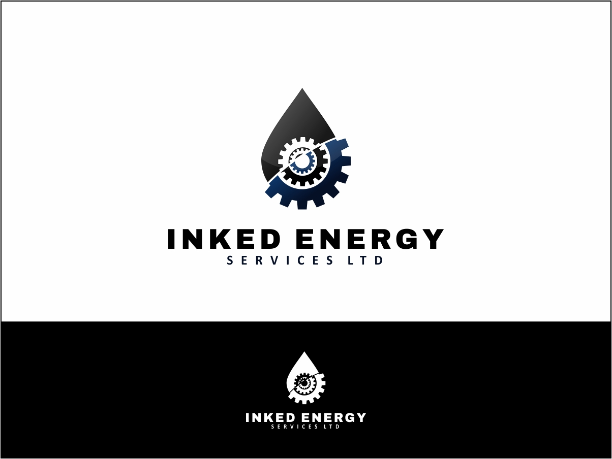 Logo Design by Juan_Kata - Entry No. 150 in the Logo Design Contest Creative Logo Design for INKED ENERGY SERVICES LTD.