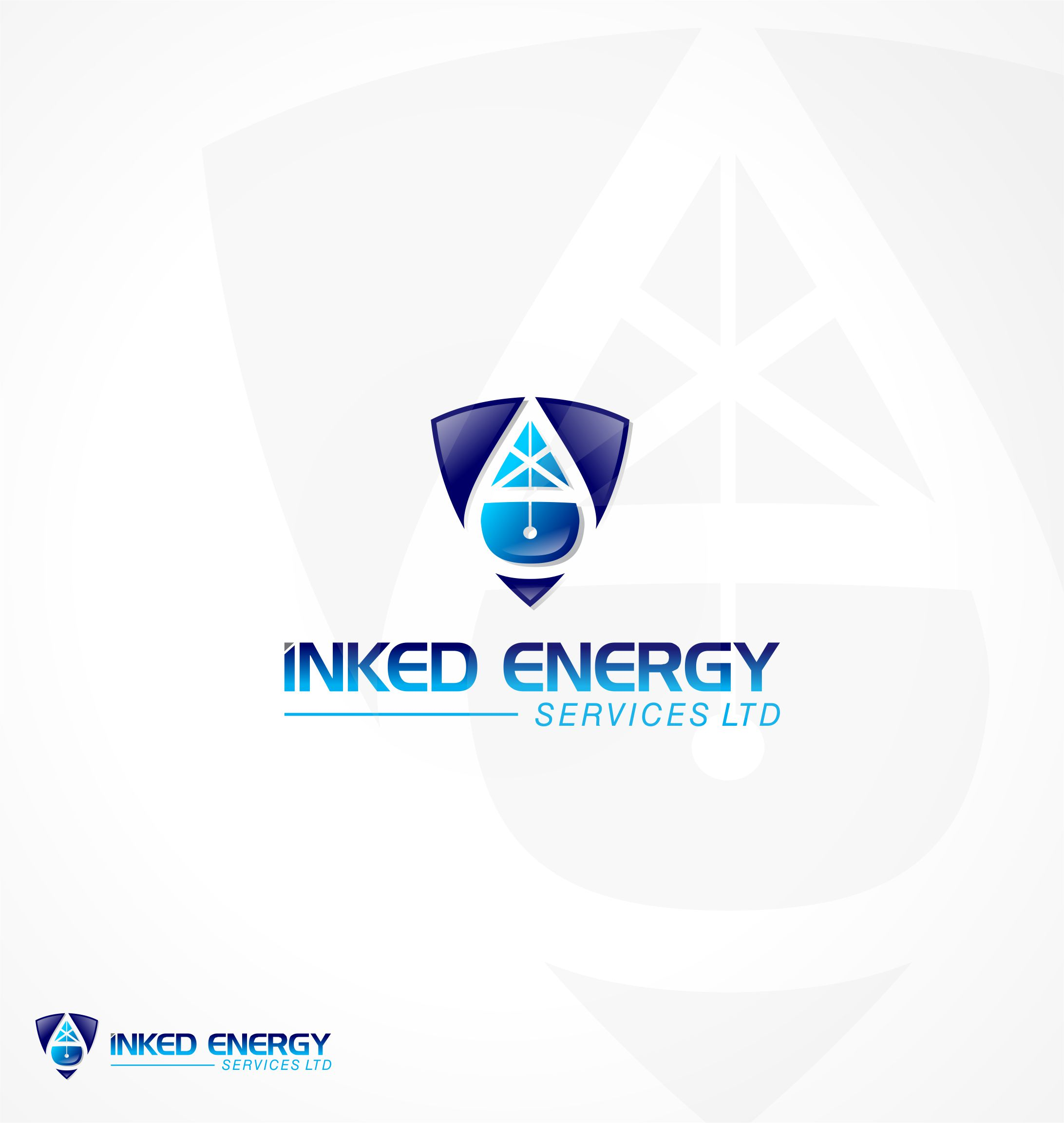 Logo Design by Raymond Garcia - Entry No. 152 in the Logo Design Contest Creative Logo Design for INKED ENERGY SERVICES LTD.