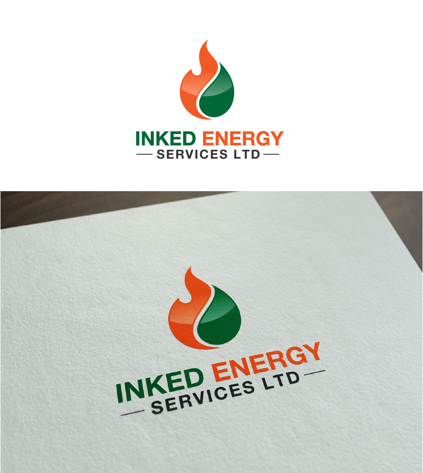 Logo Design by Juan Luna - Entry No. 153 in the Logo Design Contest Creative Logo Design for INKED ENERGY SERVICES LTD.