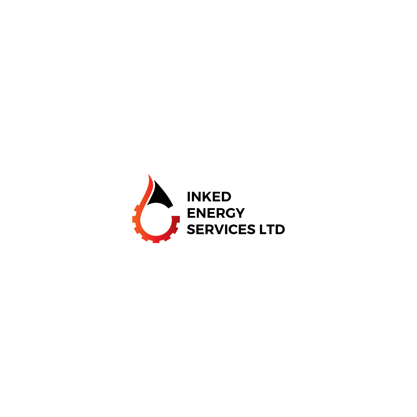 Logo Design by 354studio - Entry No. 155 in the Logo Design Contest Creative Logo Design for INKED ENERGY SERVICES LTD.