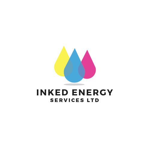Logo Design by 354studio - Entry No. 157 in the Logo Design Contest Creative Logo Design for INKED ENERGY SERVICES LTD.