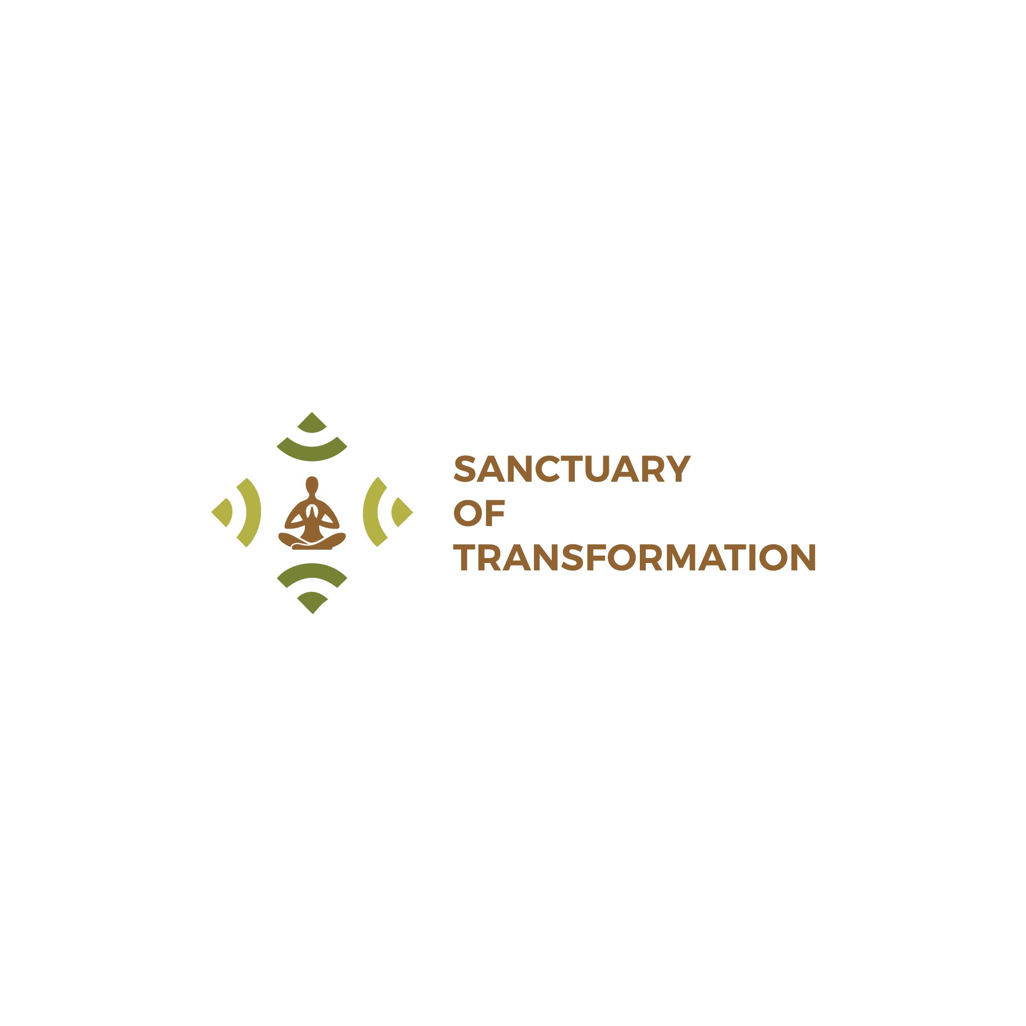 Logo Design by 354studio - Entry No. 37 in the Logo Design Contest Fun Logo Design for Sanctuary of Transformation.