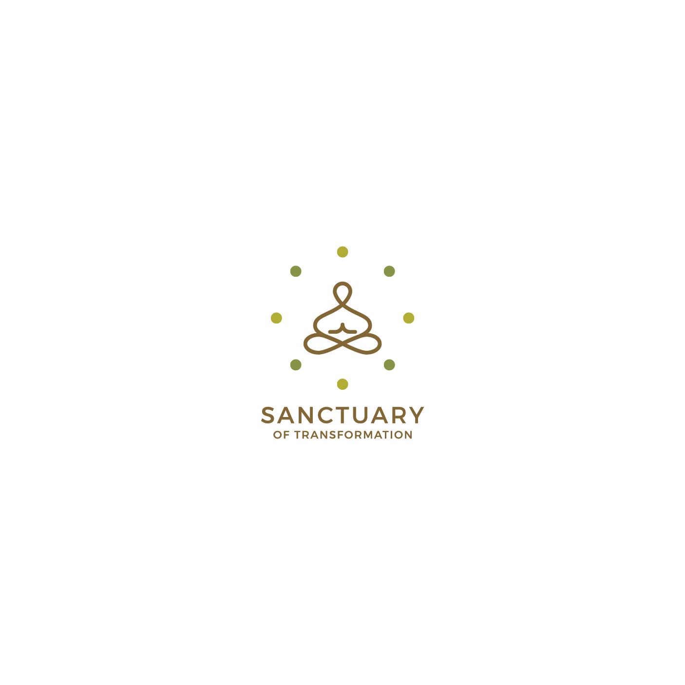 Logo Design by 354studio - Entry No. 38 in the Logo Design Contest Fun Logo Design for Sanctuary of Transformation.