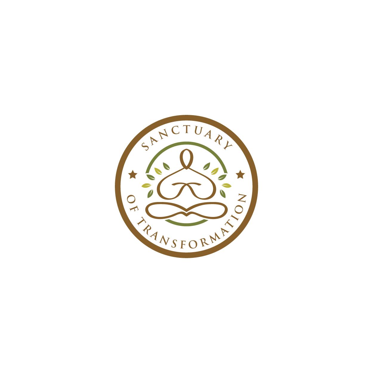 Logo Design by 354studio - Entry No. 41 in the Logo Design Contest Fun Logo Design for Sanctuary of Transformation.