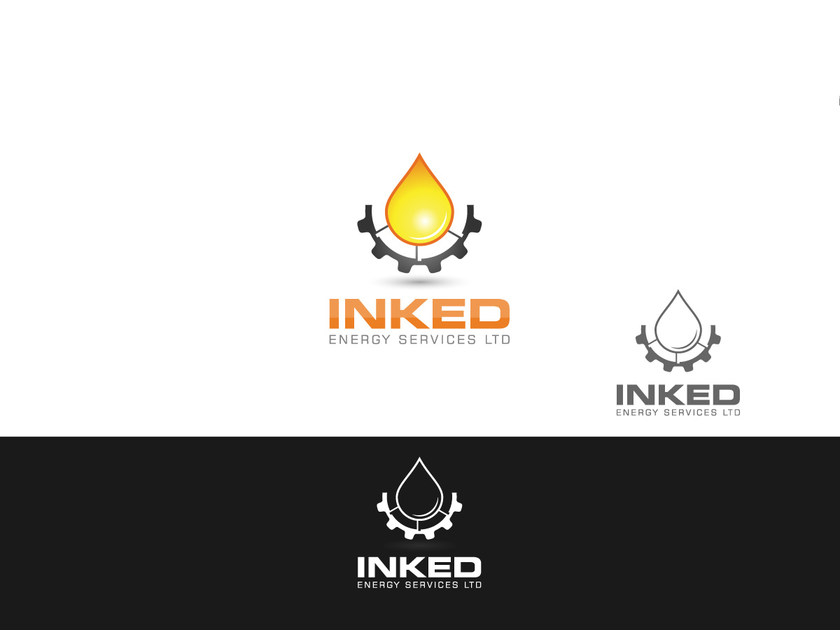 Logo Design by MD SHOHIDUL ISLAM - Entry No. 163 in the Logo Design Contest Creative Logo Design for INKED ENERGY SERVICES LTD.