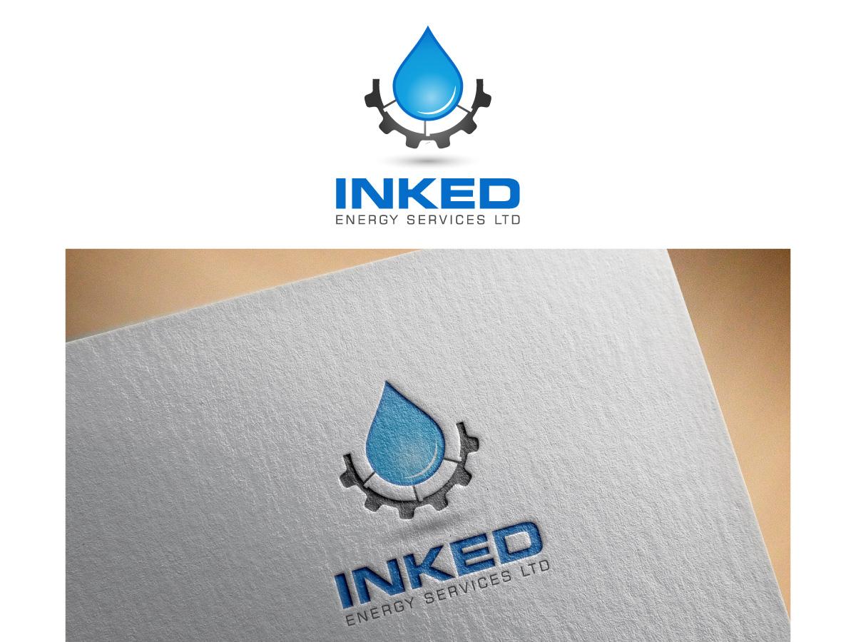 Logo Design by MD SHOHIDUL ISLAM - Entry No. 165 in the Logo Design Contest Creative Logo Design for INKED ENERGY SERVICES LTD.